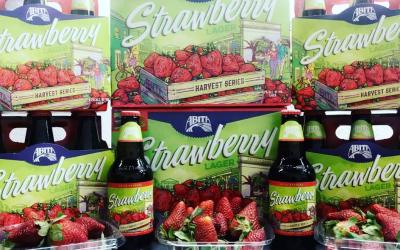 🍓🍺🍓🍺🍓🍺🍓🍺🍓🍺Grab a six pack of @abitabeer Strawberry Lager and pair it with some fresh #LouisianaStrawberries…