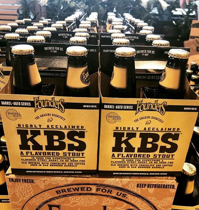 We still have @foundersbrewing KBS left after the initial rush at our Perkins Rd location!…