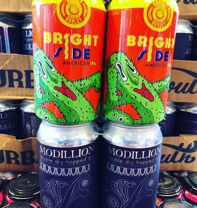 @gnarlybarley Brightside IPA and @urbansouthbeer Modillion DDH IPA are both now available at our Perkins…