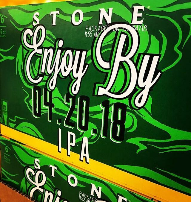 @stonebrewing Enjoy By 4.20.18 IPA is now available at our Perkins Rd location! #beer #enjoyby420…