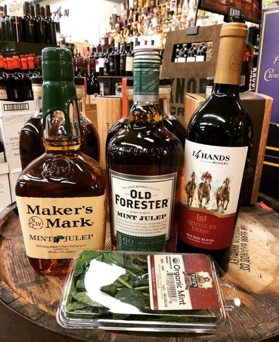 Looking for #kentuckyderby supplies? We have you covered at our Perkins Rd location! @makersmark @oldforester…