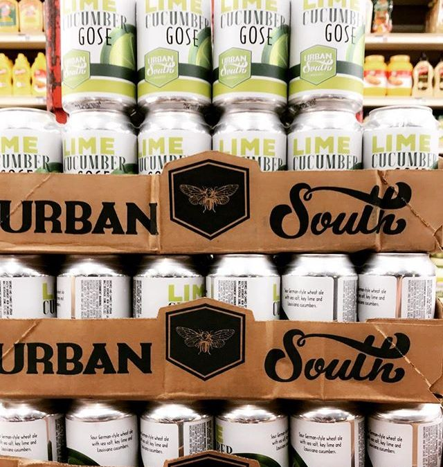 8 more cases of Lime Cucumber Gose from @urbansouthbeer just hit our Mid-City location. Stop…