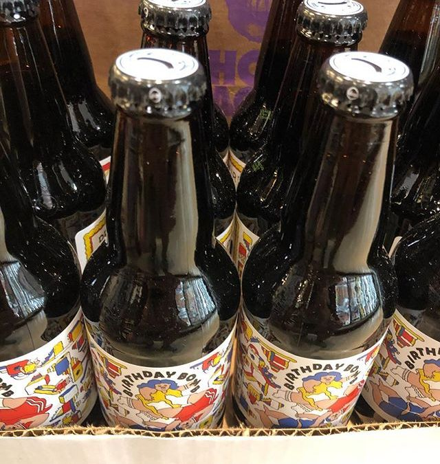 @prairieales 2018 Birthday Bomb is now available at our Perkins Rd location! #beer #birfday #happybirthdayamerica…