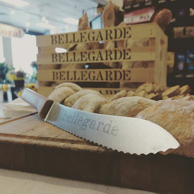 @bellegardebakery sampling at Calandro's Perkins 'til 5:30p. #whenpicsspeakforthemselves #bellegardebakery #calandrosmkt #sofresh #sodelicious #golocal #bakery