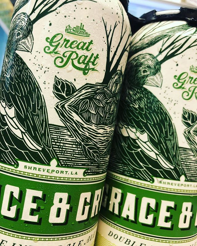 @greatraftbeer Grace and Grit Double IPA is now available at our Perkins Rd location! Super…