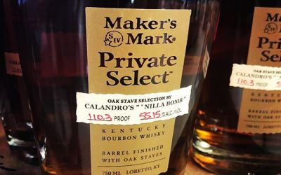 "Our @makersmark Private Select Barrel, aptly named ""Nola Bomb, is now in stock! Bursting with…"