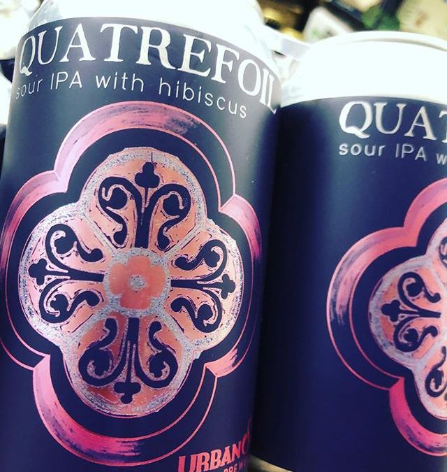 @urbansouthbeer Quatrefoil is now available at our MID-CITY location! #beer #drinklocal #hibiscus #yummy #inmytummy #ipa
