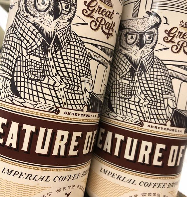 @greatraftbeer Creature of Habit, Imperial Coffee Brown Ale, is now available at BOTH locations! #beer…