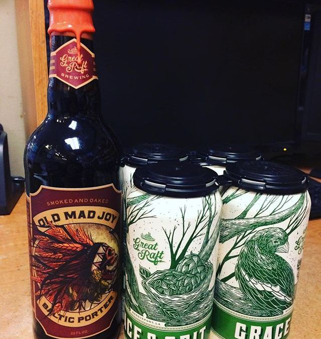 @greatraftbeer Grace and Grit and Old Mad Joy are now available at both Calandro's locations!!…