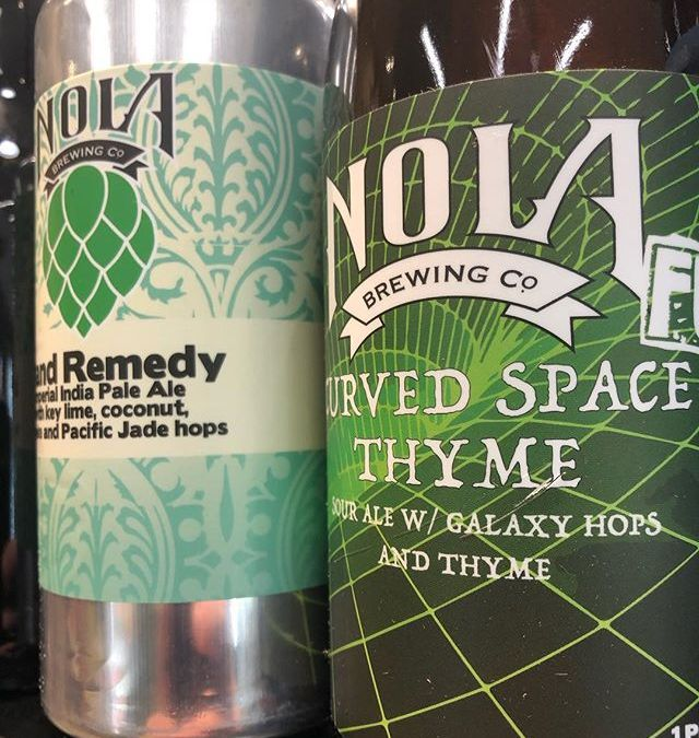 @nolabrewing Curved Space Thyme is now in stock, as well as another small drop of…