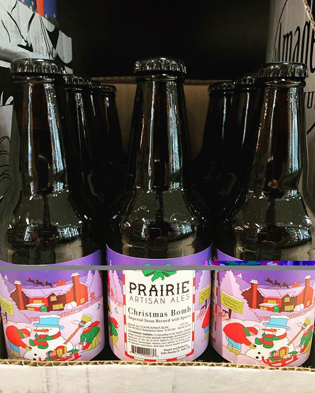 Christmas Bomb Beer.Prairieales 2018 Christmas Bomb Is Now In Stock At Our