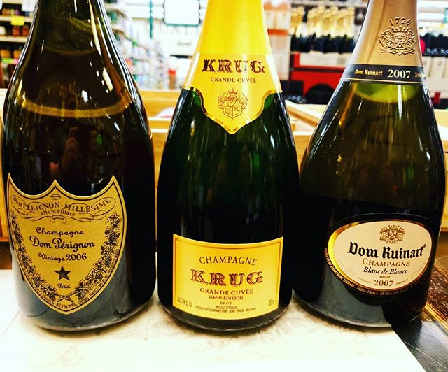 Need some Champagne for New Year's? We've got some great deals on your favorite bottles!…
