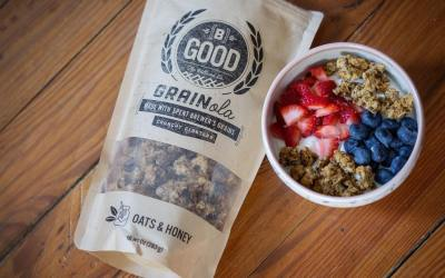 Today is Good Friday but everyday is good that includes this granola from @bgoodgrainola !!…