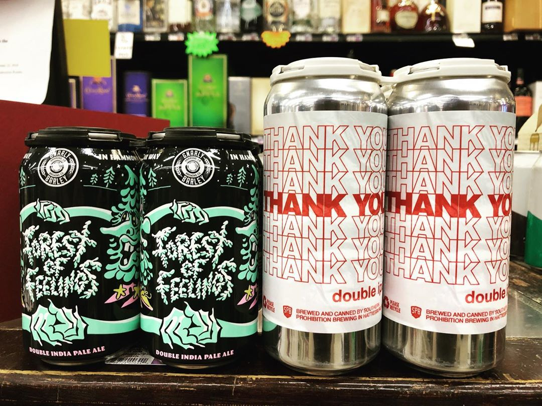 @gnarlybarley Forest of Feelings and @soprobrewco Thank You are both now available at our Perkins…