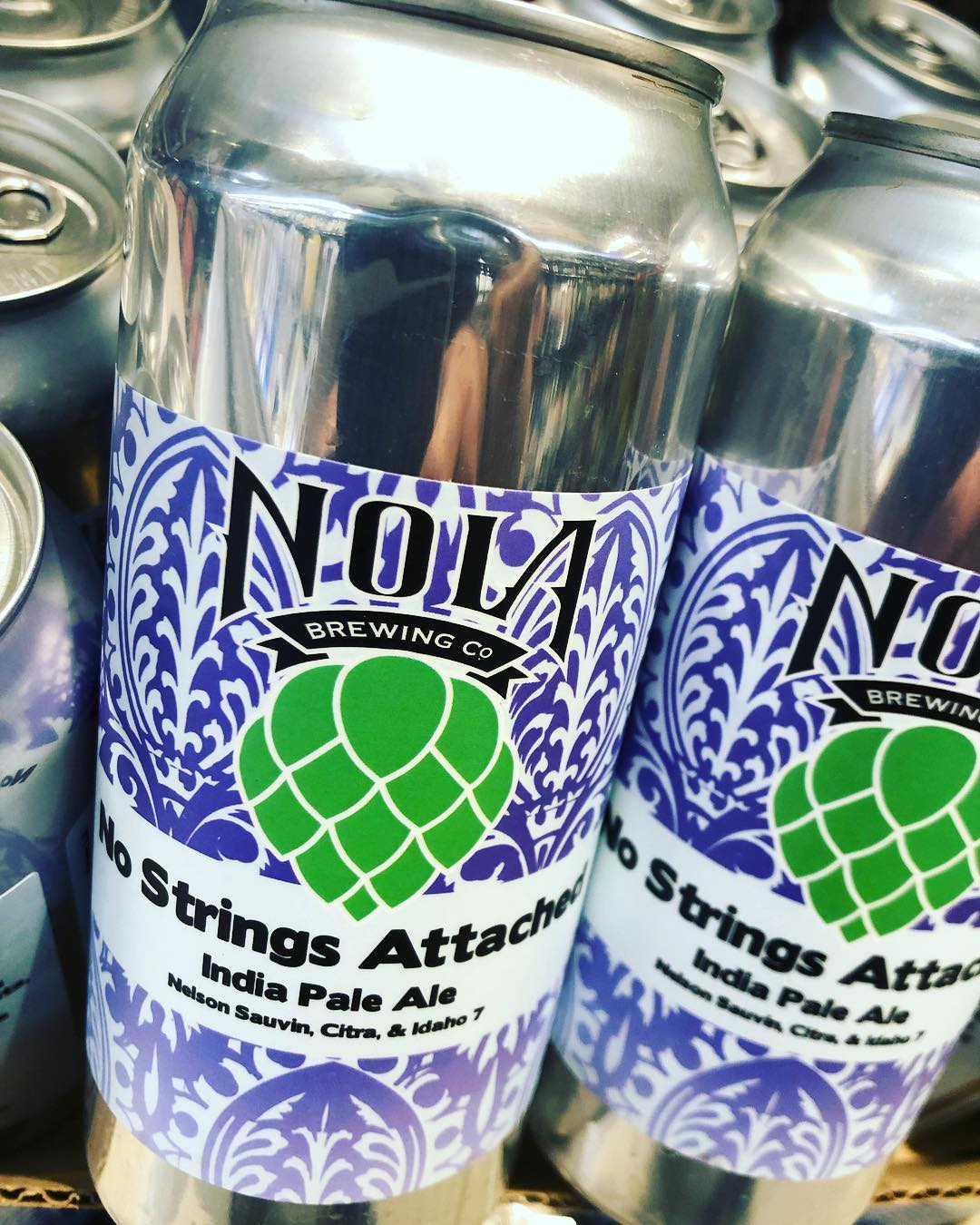 @nolabrewing No Strings Attached is now available at our Perkins Rd location! #beer #freshhops #drinklocal…