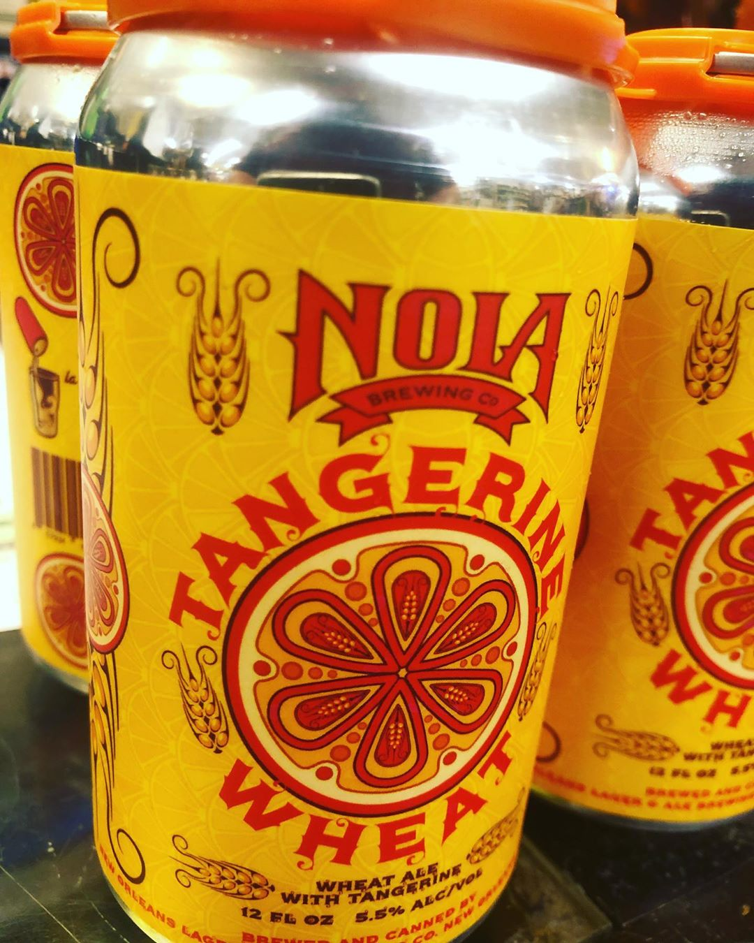 @nolabrewing Tangerine Wheat is now available at our Perkins Rd location! #beer #drinklocal #tangerine #summercrush