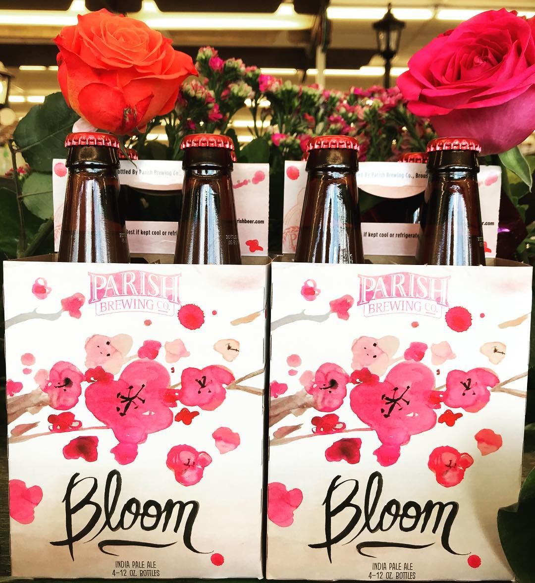 @parishbrewingco #Bloom is available now at our Mid-City location! Perfect for the hottest Louisiana weather….