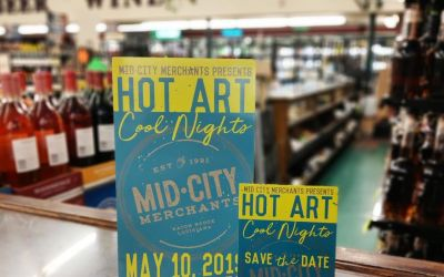 Who is coming out tomorrow night to #hotartcoolnights in mid city ?!? Come see us…