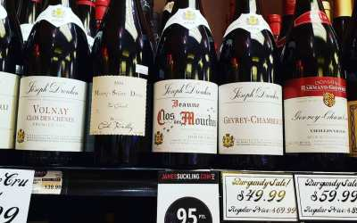 Come check out our heavily discounted Burgundies! Just in time to get a cool bottle…