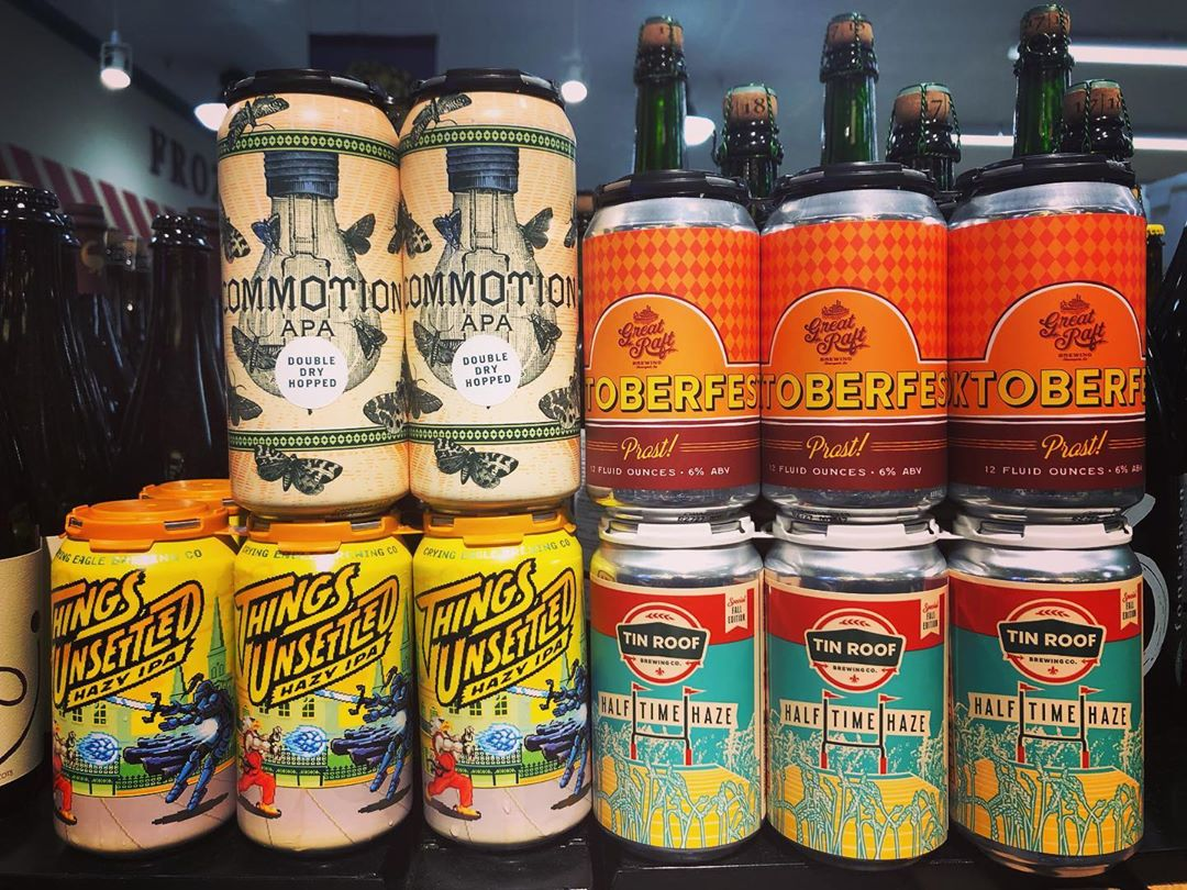 It's #newbrewthursday at our Perkins Rd location! Multiple new local options.. @tinroofbeer @greatraftbeer @greatraft_southla @cryingeaglebrew…