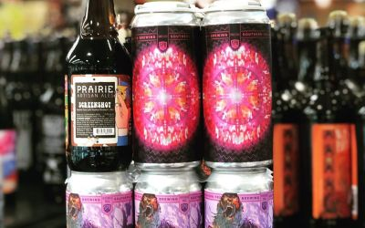But wait… there's more at our Perkins Rd location! @soprobrewco @prairieales #beer #haze #drinklocalish #hazelnut