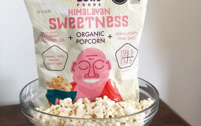 Make your next snack choice a smart one with organic air popped light and low…