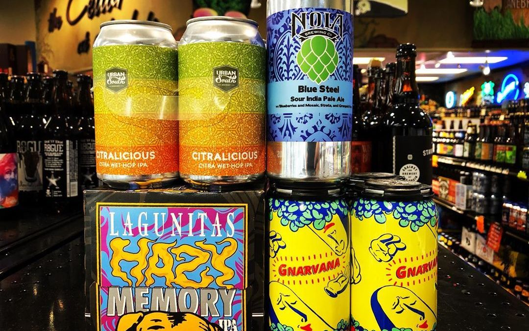 New brews now in stock at our Perkins Rd location! #beer #newbrewthursday #drinklocal #hazefordays #geauxtigers…
