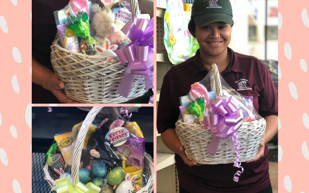 We have your Easter 🐣 basket needs covered! Order one of our small or regular…