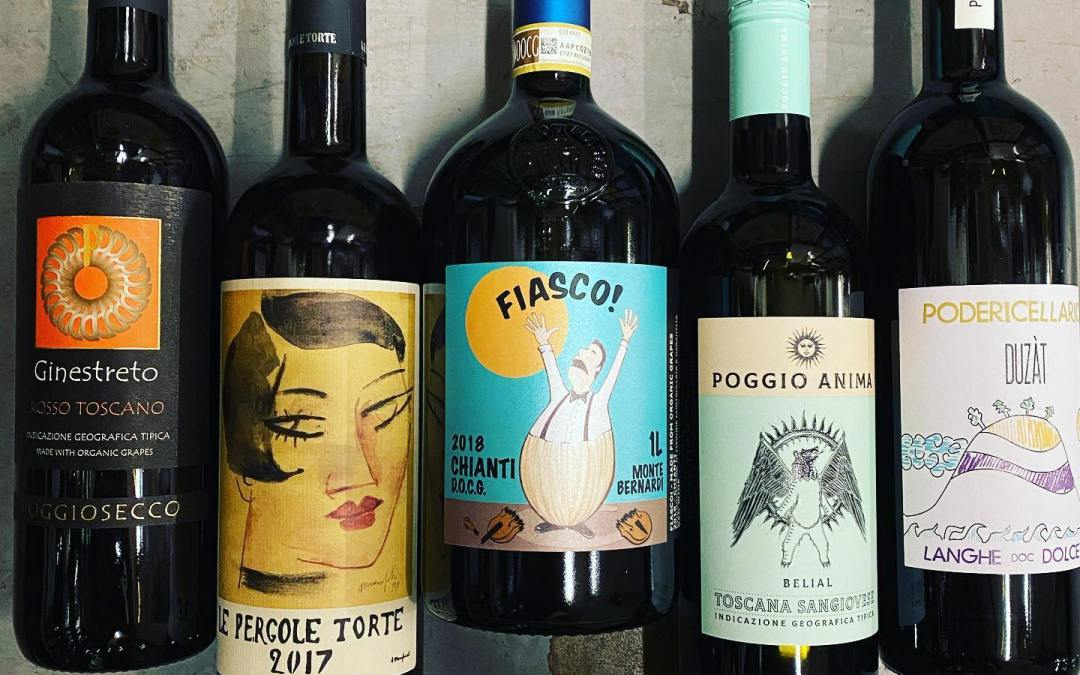 Italy coming in HOT! Too many delicious new Italian wines to name now available at