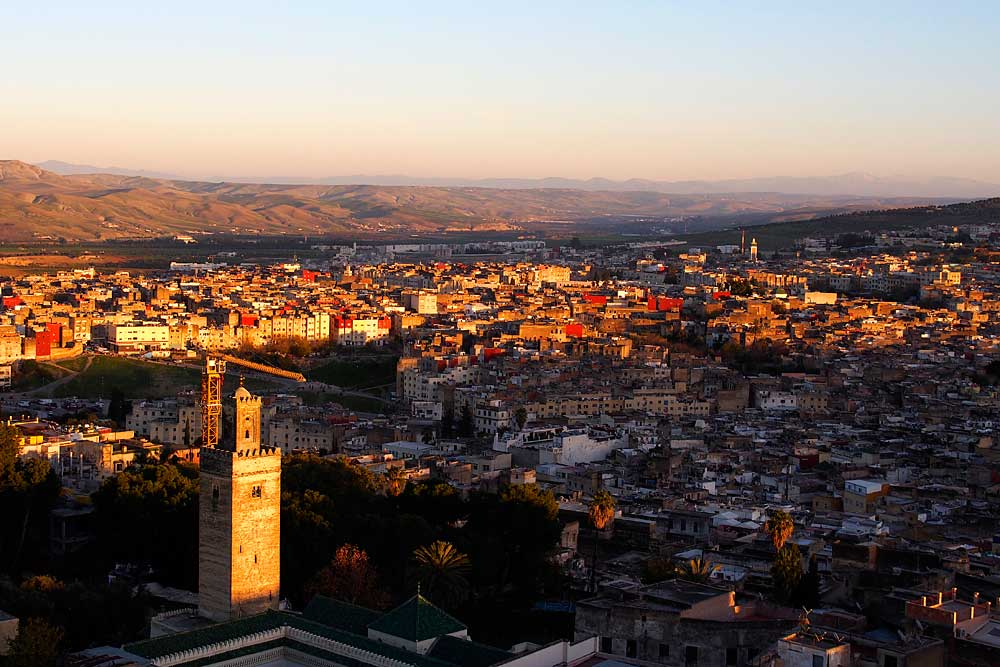 Fes Maroc panoramic view