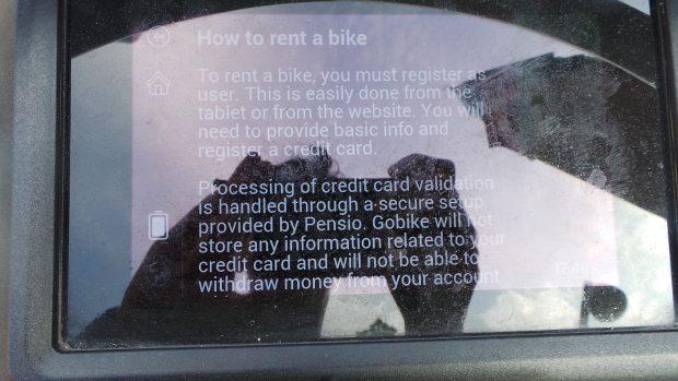 display la bicicleta