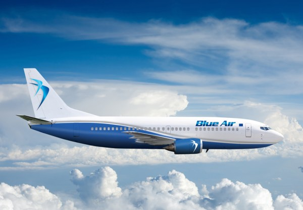 Blue Air aircraft - new livery