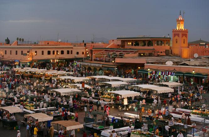 jemaa el Fna de Marrakech