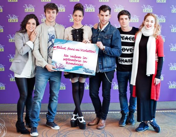 Violetta-Ne vedem in Septembrie in Romania