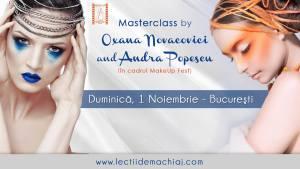 Masterclass by Oxana Novacovici si Andra Popescu