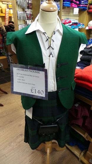 costum scotian