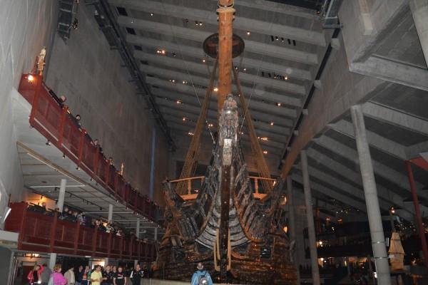 In interiorul muzeului