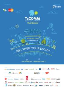 TeCOMM eCommerce Conference&Expo – succesul unui business online