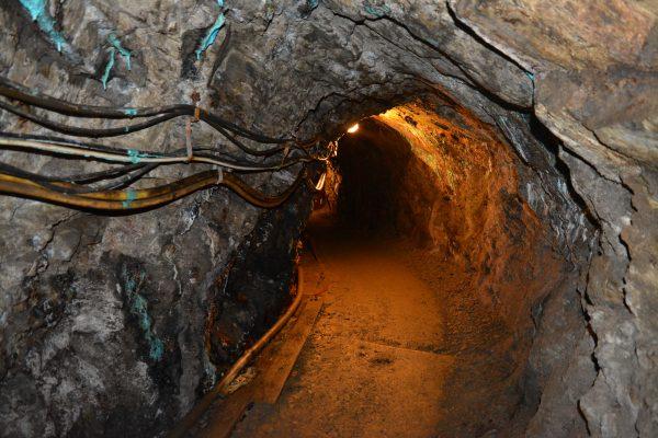 in tunel