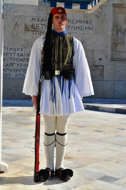 Soldat de garda la palat