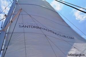 Yachting club Santorini