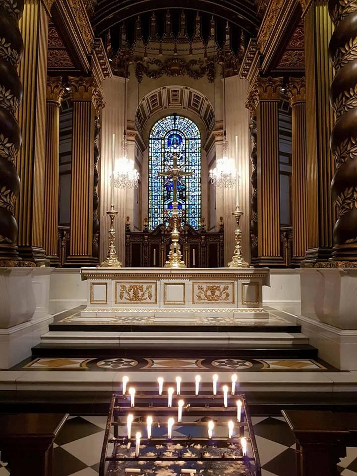 altar St' Paul