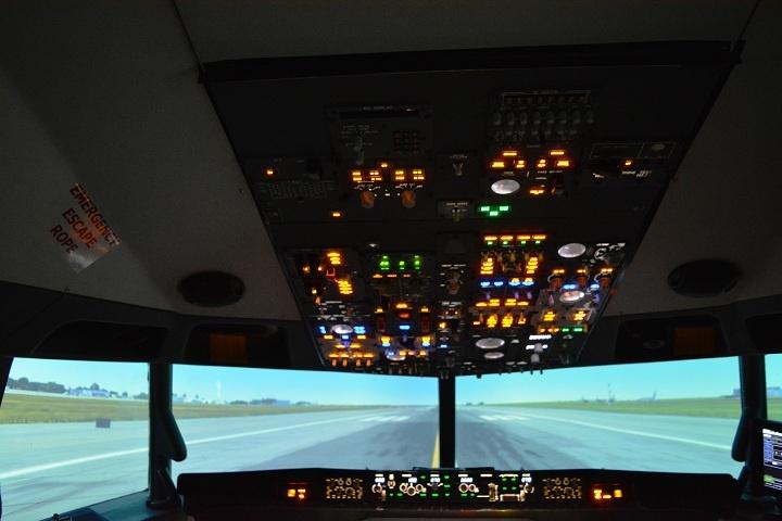 cabina avion