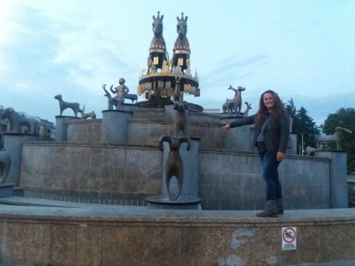 statuia din centru