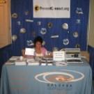 CALCASA's Display booth at the 2009 National SA Conference