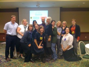 David Lee and the staff of the Missouri Coalition Against Sexual Assault