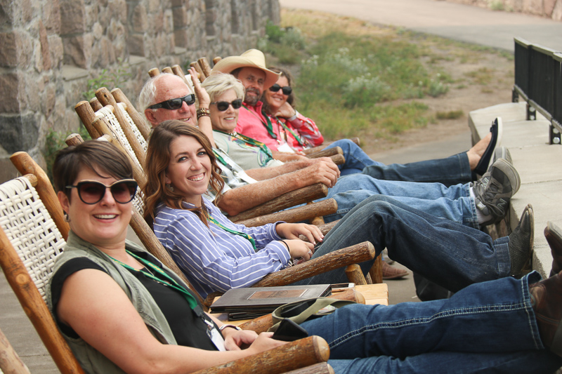 CBCIA tour attendees at Crater Lake