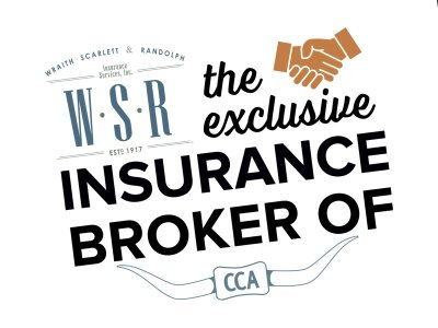 WSR Insurance is the exclusive insurance broker of CCA