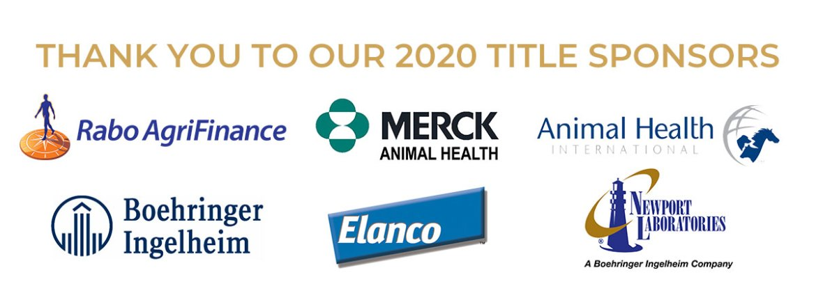 Thank you to our 2020 Title Sponsors!