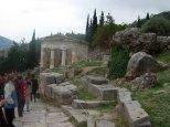 Tesoro de los atenienses, Delfos